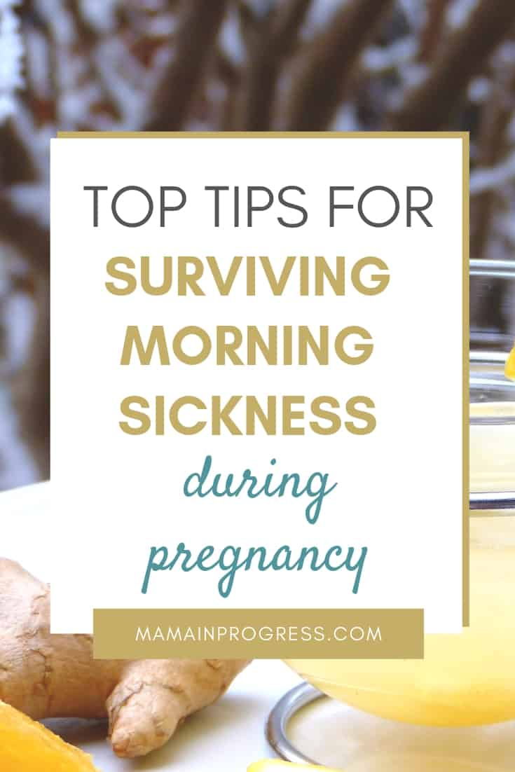 Top tips for surviving morning sickness during pregnancy