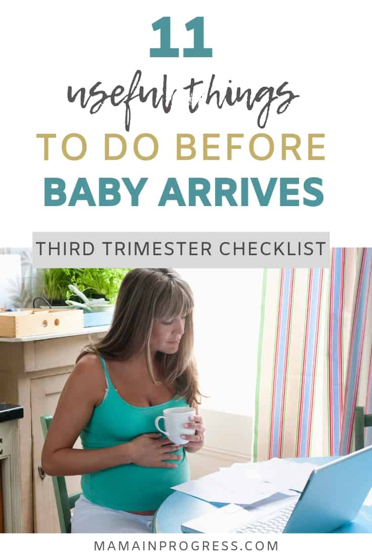 11 useful things to do before baby arrives